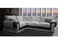 New Scs Ashley corner sofa with #FREE FOOTSTOOL