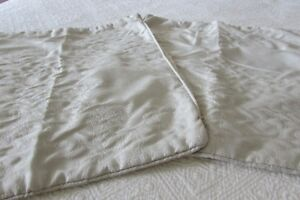2 oyster square pillow cases
