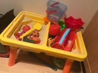 Kids sand and water table inc toys