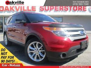 2013 Ford Explorer XLT | LEATHER | SUNROOF | NAVI | 7 PASSENGER