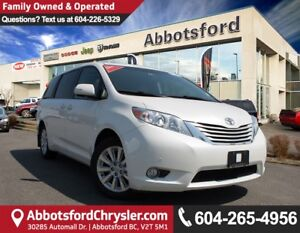 2014 Toyota Sienna XLE 7 Passenger Fully Loaded, All Wheel Drive