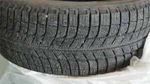 4 almost New Michelin X-Ice winter tires 225/55R18 only $500