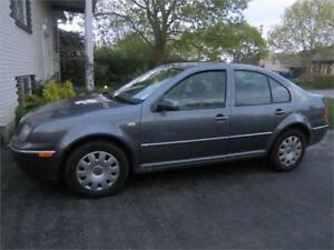 2007 Volkswagen Jetta City 2,0 CITY TOUT EQUIPE 5 vitesses finan