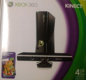 XBOX 360 with Kinect - new in sealed box