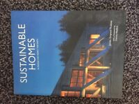Sustainable homes book in good condition
