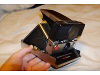 Polaroid sx-70 Sonar Camera black