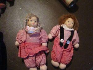 """Vintage Petite 6""""- 6.5"""" dolls"""