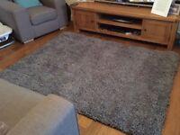 Soft Grey Eskimo rug 80cm x 150cm