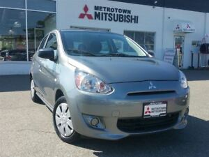 2015 Mitsubishi Mirage ES Plus; Local & No accidents!
