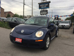 *CERTIFIED*2YRS WARRANTY*2007 Volkswagen New Beetle GLS Coup