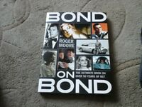 Bond on Bond book by Roger Moore