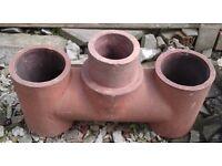 Rare 3 pot chimney - excellent condition