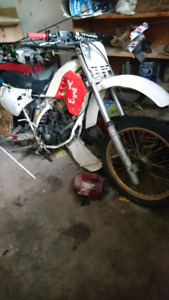 2 dirtbikes need rid of asap taking up room in garage