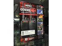 Mitex general xtreme Walkie Talkie boxed new