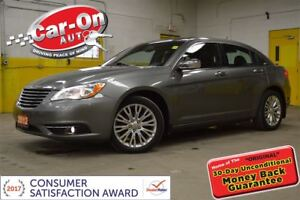 2012 Chrysler 200 Limited LEATHER SUNROOF NAV ALLOYS REMOTE STAR
