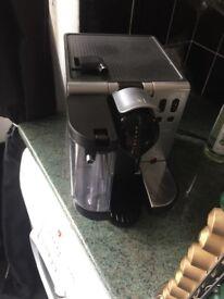 Delongi nespresso machine