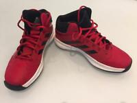 Boys Adidas Hi-tops size 5