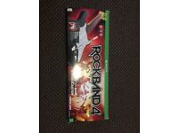 Rockband 4 guitar controller with game for Xbox 1