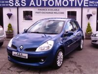2008 RENAULT CLIO DYNAMIQUE 1149cc 12 MONTHS M.O.T 6 MONTHS WARRANTY (FINANCE AVAILABLE)