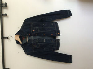 Dark washed jean jacket