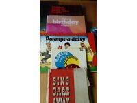5 old song books