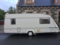 ***SOLD*** 5 Bed Elddis Cyclone EX300 1997 - Large awning - Great Condition ***