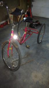 Velo adulte 3 roue 80$