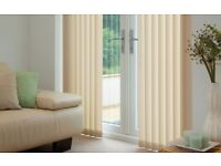 Vertical blinds like in the picture 200 x 200 cm