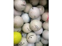 Practice Quality Mixed Golf Balls