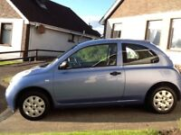 Nissan micra 2004 low mileage only 60830 mot to 26 may 2018 excellent driving we car