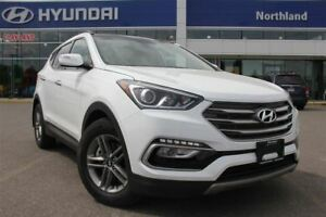 2017 Hyundai Santa Fe Sport 2.4/Leather/Bluetooth/Moonroof/Alloy