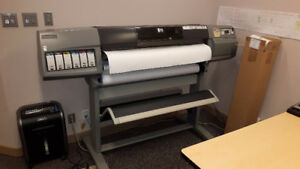 HP DesignJet 5500 Color  Plotter Printer & Accessories
