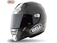 Bell FULL CARBON FIBRE Street 2015 M5X Carbon Helmet, Daytona Matte White, XXL RRP: £500