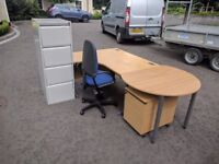 SMALL OFFICE FURNITURE COMPLETE