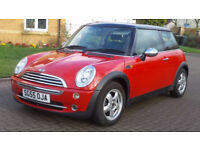 MINI HATCH COOPER 1.6 COOPER 3d 114 BHP ELECTRIC SUN ROOF, PARKING SENSORS SERVICE RECORD