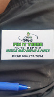 Experienced Mechanic offering Mobile Services
