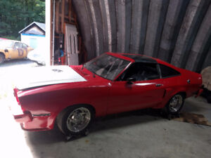 Ford Mustang 1976 (projet)
