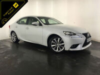 2014 64 LEXUS IS 300H LUXURY CVT HYBRID AUTO 1 OWNER SERVICE HISTORY FINANCE PX