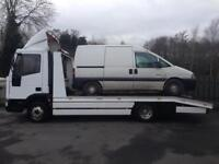 Scrap Cars and vans bought and collected