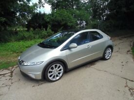 Honda Civic 2.2 i-cdti es 2008 Full Service History 12 month MOT Outstanding condition