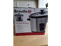 Breville Rice Cooker Steamer Brand New