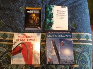 University Engineering, Drafting, and Surveying textbooks.