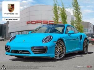 2017 Porsche 911 Turbo S - Local Edmonton - Front and Rear Camer