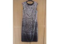 Black & White (workwear) Dress - Size 16