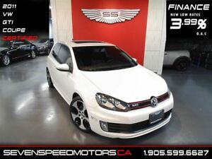 2011 Volkswagen Golf GTI COUPE|$116 BW|1YR FREE WARRANTY