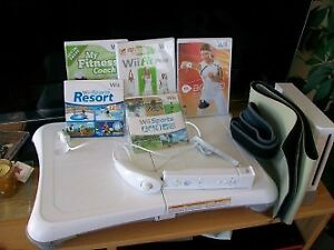 console Wii fit