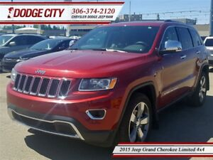 2015 Jeep Grand Cherokee Limited   4x4   PST PAID