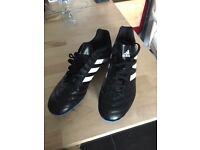 Adidas black white football boots 8.5 brand new not in box