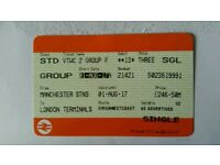 16 Virgin Trains Tickets Manchester to London