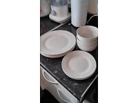 Tableware - Plain White - Free to collect.